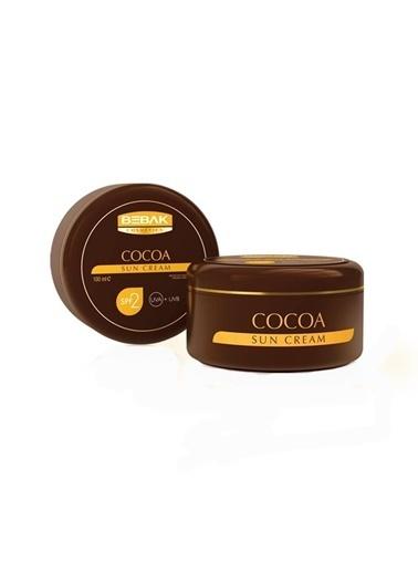 Bebak Bebak Cocoa Sun Cream SPF0 100ml Renksiz